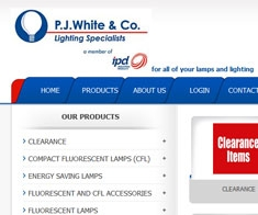 P. J. White & Co (Lighting Specialists)